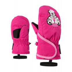 Detské lyžiarske rukavice ZIENER-LOLLO AS(R) MINIS glove-191950-766-Pink dark