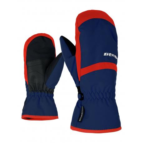 Detské lyžiarske rukavice ZIENER-LEJANOS AS(R) MITTEN glove junior-801947-143-Blue