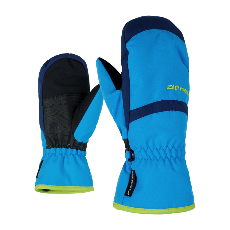 ZIENER-LEJANOS AS(R) MITTEN glove junior-801947-798-Blue 5 Modrá