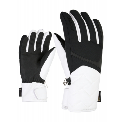 Dámske lyžiarske rukavice ZIENER-KYRENA GTX lady glove-801164-01-White
