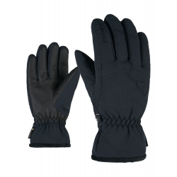 Dámske lyžiarske rukavice ZIENER-KARRI GTX lady glove-801162-12-Black