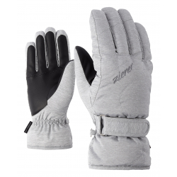 Dámske lyžiarske rukavice ZIENER-KADDY lady glove-801141-823-Grey light