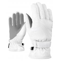Dámske lyžiarske rukavice ZIENER-KONNY AS(R) lady glove-801116-01-White