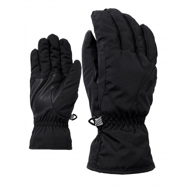 ZIENER-KATA lady glove-801100-12-Black Čierna 7.5