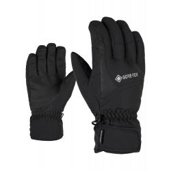 Pánske lyžiarske rukavice ZIENER-GARWEN GTX glove ski alpine-801059-12-Black