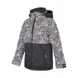 Dětská lyžařská bunda ZIENER-ALULA jun (jacket ski) -197922-896-Black