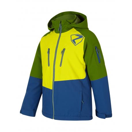Detská lyžiarska bunda ZIENER-ANOAH jun (jacket ski)-197905-111-Mix