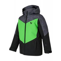 Dětská lyžařská bunda ZIENER-AVAN jun (jacket ski) -197900-12408-Black