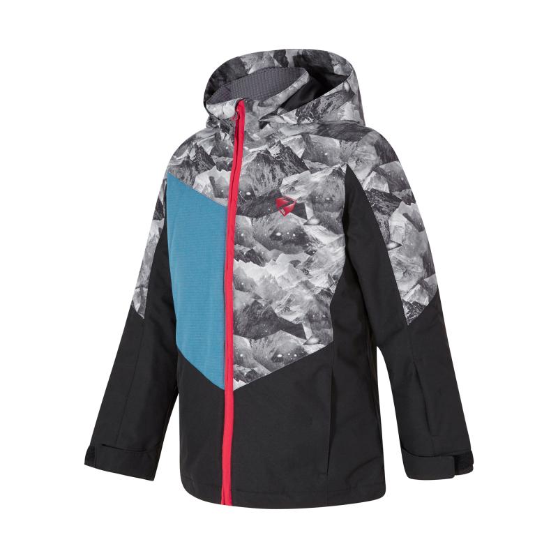 ZIENER-AVAN jun (jacket ski)-197900-12-Black 164 Mix