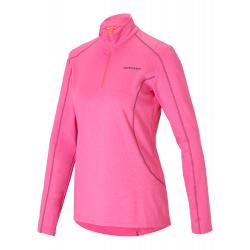 Dámske tričko s dlhým rukávom ZIENER-JEMILKI lady (underlayer)-197151-806-Pink dark