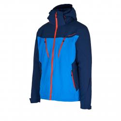 Pánska lyžiarska bunda BLIZZARD-Mens Ski Jacket Stelvio, bright blue/dark blue/red