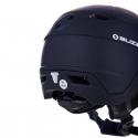 Lyžiarska prilba so štítom BLIZZARD-Double Visor ski helmet, black matt, smoke lens, mirror -