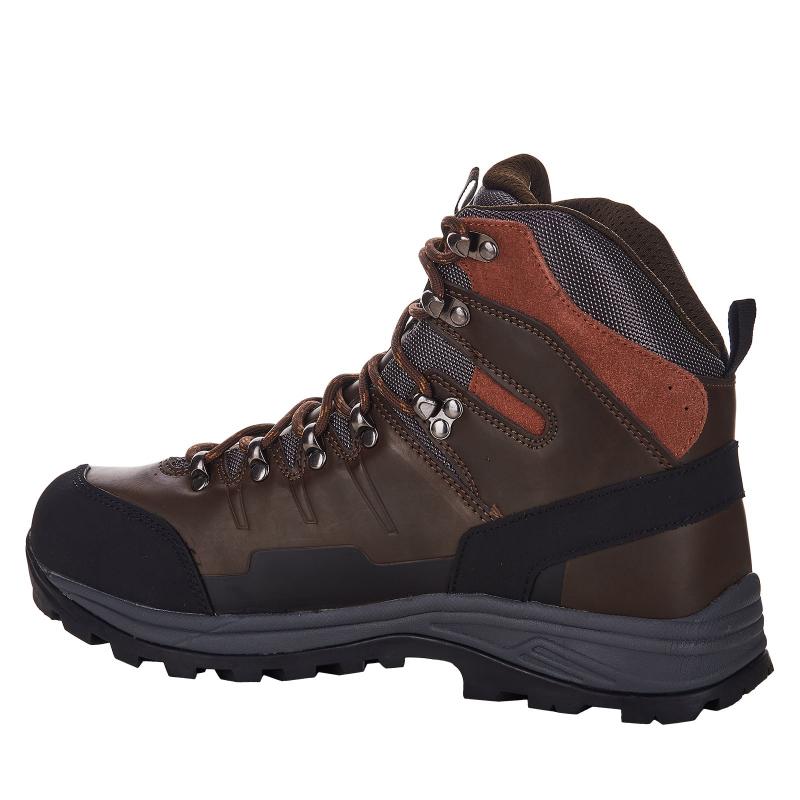 Pánska turistická obuv vysoká EVERETT-Rockbuhl brown -