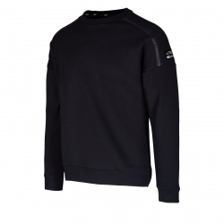 Pánska tréningová mikina ANTA-Sweat Shirt-85947713-3-Basic Black