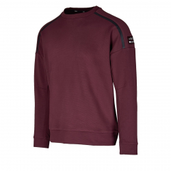 Pánska tréningová mikina ANTA-Sweat Shirt-85947713-4-Highland Brown