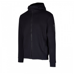 Pánska tréningová mikina so zipsom ANTA-Knit Track Top-85947774-3-Basic Black
