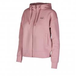 Dámska tréningová mikina so zipsom ANTA-Knit Track Top-86947658-2-Elegant Pink