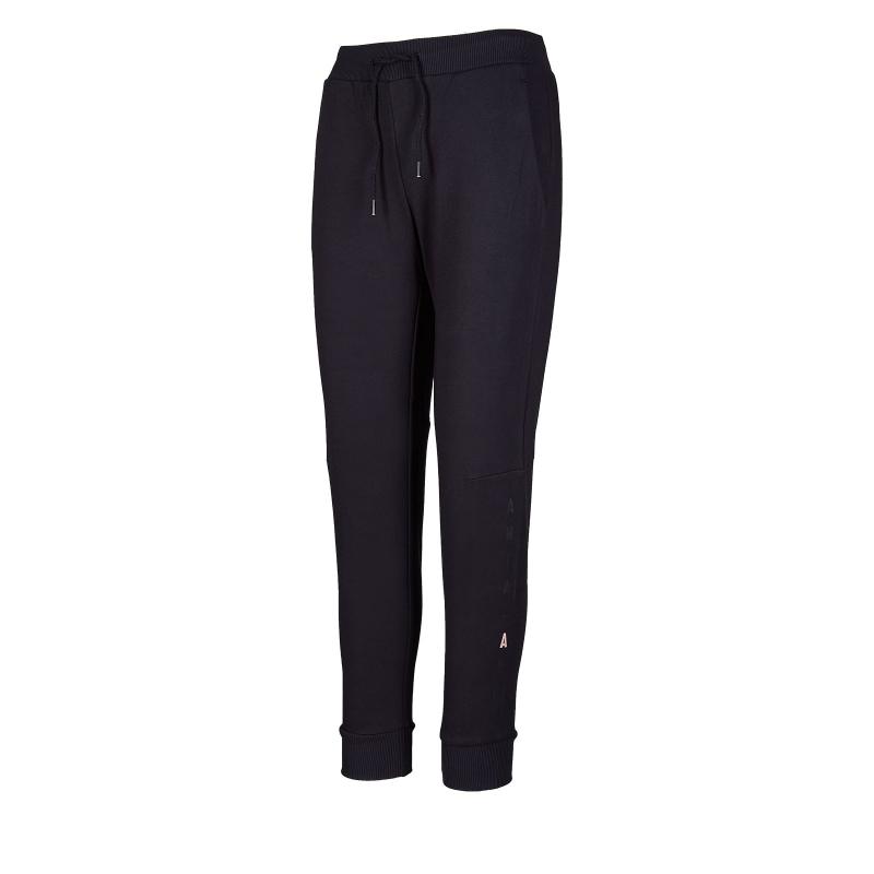 ANTA-Knit Track Pants-86947752-1-Basic Black Čierna XL