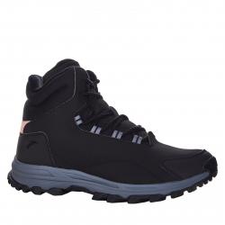 Dámska zimná obuv vysoká ANTA-Cotton-Padded Shoes-82948960-1-Black/Pale Gray