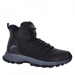 Dámska zimná obuv vysoká ANTA-Cotton-Padded Shoes-82948977-1-Black/Pale Gray/L.Pink