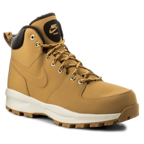 Pánska vychádzková obuv NIKE-Manoa Leather haystack/haystack/velvet brown