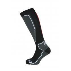 Lyžiarske kompresné podkolienky BLIZZARD-Compress 85 ski socks, black/grey