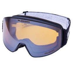 Lyžiarske okuliare BLIZZARD-Ski Gog. 931 MDAZPO, black matt, amber2, silver mir