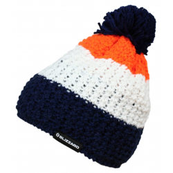 Zimná čiapka BLIZZARD-Tricolor, blue/white/orange