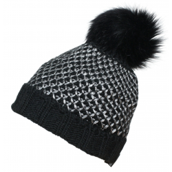 Zimná čiapka BLIZZARD-Ischgl black/silver