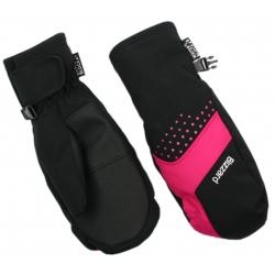 Juniorské lyžařské rukavice BLIZZARD-Mitten junior ski gloves, black / pink 20
