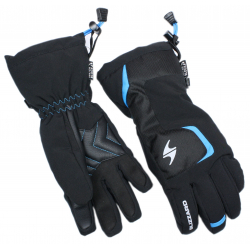 Juniorské lyžařské rukavice BLIZZARD-Reflex junior ski gloves, black / blue