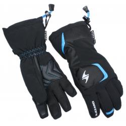 Juniorské lyžařské rukavice BLIZZARD-Reflex junior ski gloves, black / blue