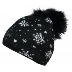 Zimná čiapka BLIZZARD-Stone, black