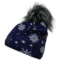 Zimní čepice BLIZZARD-Stone, blue