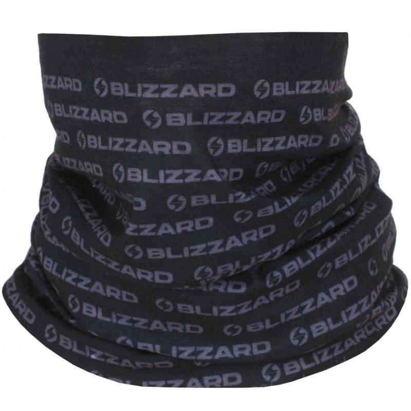 Multifunkčná šatka BLIZZARD-Tube, black, size UNI -