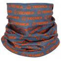 Multifunkční šátek TECNICA-Tube, grey / orange, size UNI -