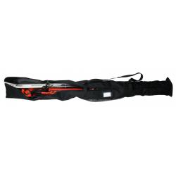 Obal na běžky BLIZZARD-Ski + XC bag for 2 pairs, black
