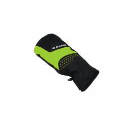 Juniorské lyžařské rukavice BLIZZARD-Mitten junior ski gloves, black / green 20