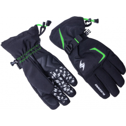 Lyžiarske rukavice BLIZZARD-Reflex ski gloves, black/green