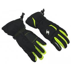 Juniorské lyžiarske rukavice BLIZZARD-Reflex junior ski gloves, black/green