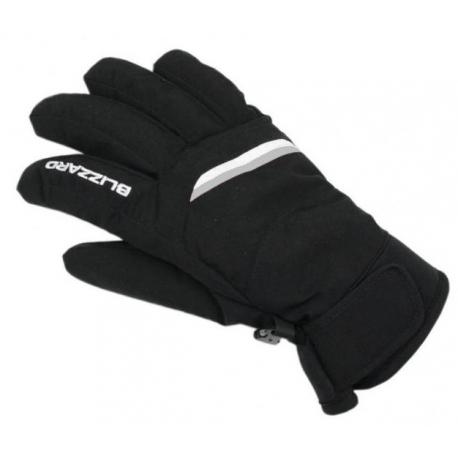Dámske lyžiarske rukavice BLIZZARD-Viva Plose ski gloves, black/white/silver 20
