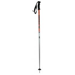 Lyžiarske palice BLIZZARD-Sport ski poles, black/orange/silver