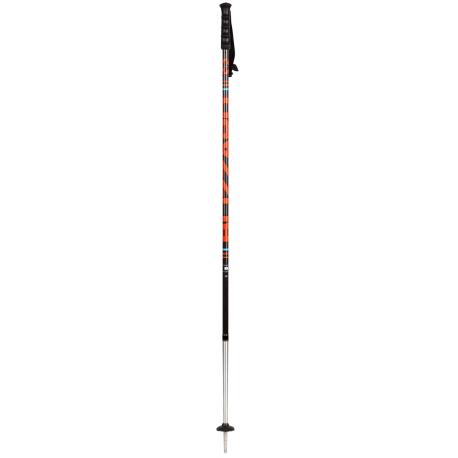 Lyžiarske palice BLIZZARD-Race 7001/carbon ski poles, black/orange