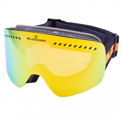 Lyžiarske okuliare BLIZZARD-Ski Gog. 985 MDAVZO, black matt, smoke2, orange rev