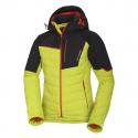 Pánská lyžařská bunda NORTHFINDER-INDIGO-greenblack -