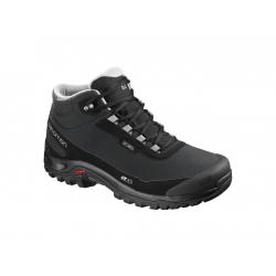 Pánská turistická obuv střední Salomon-SHELTER CS WP black / Bk / Frost Gray