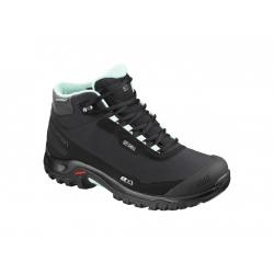 Dámska zimná obuv stredná SALOMON-Shelter CS WP W black/bk/eggshell