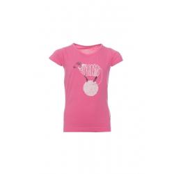 Dětské tričko s krátkým rukávem SAM73-Girls T-shirt short sleeves-KTSP249407SM-407SM-pink