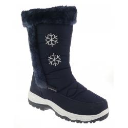 Dámska zimná obuv vysoká SCANDI-Birkeland dkblue