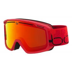 Lyžařské brýle Bollé-MADDOX-MATTE RED LINE-SUNRISE